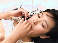 naughty asian loves facials