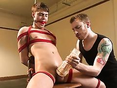 masters use a fleshlight on the slave