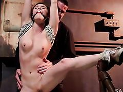 casey calvert loves to be bound and tortured
