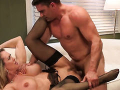 Brandi Love is a cumshot addict