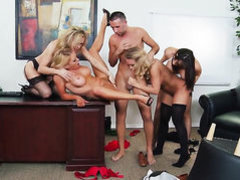 Krissy Lynn  Tanya Tate  Chanel Preston  Nicole Aniston with
