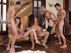 Ladies Night out Orgy