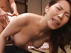 Juri Yamaguchi Asian model gives