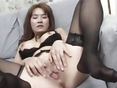 Asian sex from Tokyo in a hotel hotel