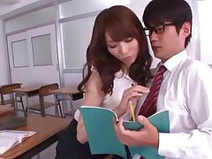 hot teacher and her dorky student