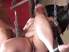 horny mature woman gets fucked real hard