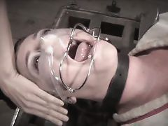 embarrassed and then receives an enema