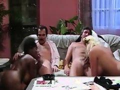 Classic Interracial Foursome